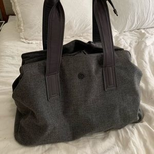 lululemon athletica Bags - Grey Lululemon Go Getter Bag 26L